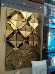Glass Wall Decorative Mirror Living Room