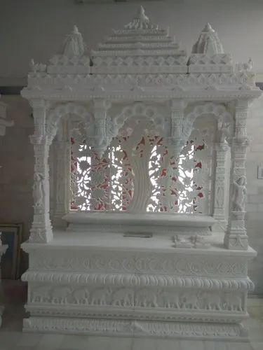 Designer Inlay Marble Home Temple