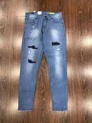Men Rugged Denim Jeans