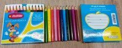 Rabbit 12 Colour Half Size Pencil