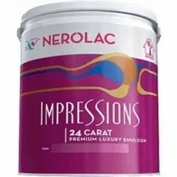 Nerolac Paint Exterior, Packaging Type: Bucket, Pack Size: Standard