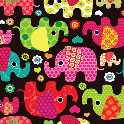 Printed Knitted Fabric, Use: Garments