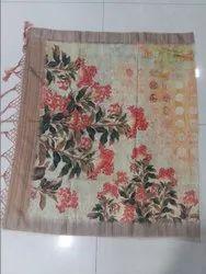 Bhagalpuri Digital Print Silk Saree