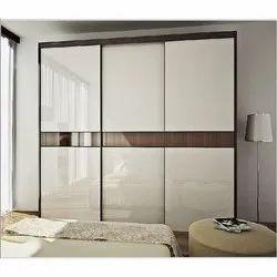 Double Door Glass Cupboard, For Home