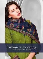 Balaji Chulbuli Patiyala Printed Cotton Dress Material Catalog Collection