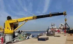 Marine Ship Deck Crane Repair Service
