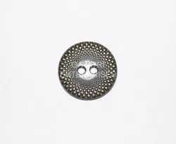Silver Antique Zinc Fancy Metal Buttons, For Shirt, Packaging Type: Polypack