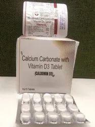 Calcium Carbonate With Vitamin D3 Tablet