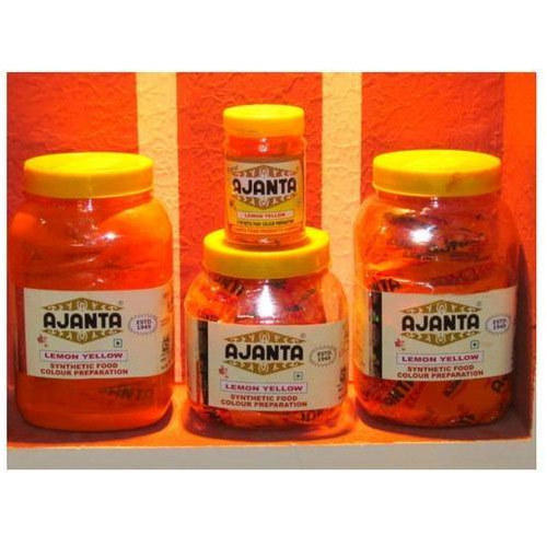 Lemon Yellow Food Color, Food Pigment - Ajanta Food Products Company ...