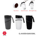 Steel  Insulated Vacuum Suction Spill Free Traveling Mugs & Tumbler-500ml-GL-49