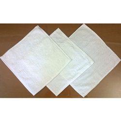 Unique Crafts White Plain Table Napkin