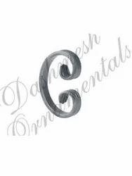 Ornamental Sheet Metal Scrolls