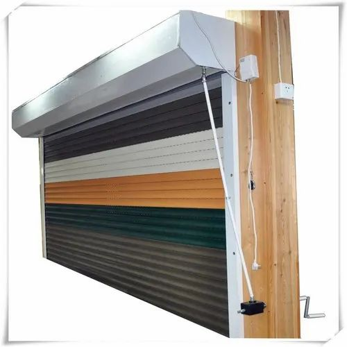 Grey Iron Automatic Rolling Shutter