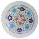 Beautiful Marble Inlay Plate