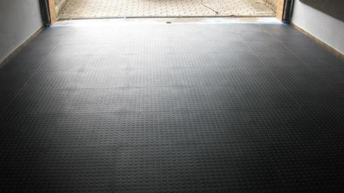 Rubber Tile Flooring Installation Service