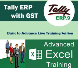Tally ERP.9/ Advanced Excel Course