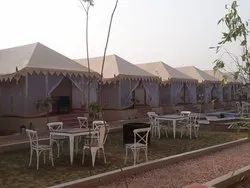 Canvas Swiss Cottage Tent