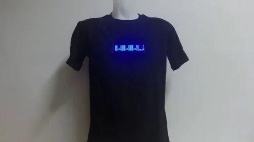 6ec47473a LED T Shirt - Mobile Programable LED T Shirt Manufacturer from Mumbai