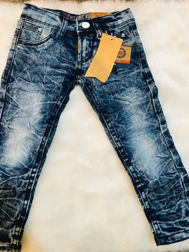 Cyclone blue Kids Unisex Jeans