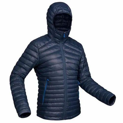 discount casual shoes highly praised Decathlon Trek 100 Down Size L Navy Blue Pipe Men Mountain Trekking Down  Jacket