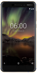 Nokia 6.1 (2018) (4GB   64GB, Blue-Gold) Mobile