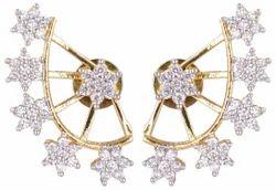 American Diamond Earcuff