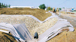 Geotextile For Subsurface Drainage