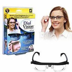 PVC Black Dial Vision, Size: Free
