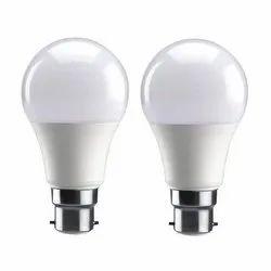 Ceramic 7 W Cool Daylight Round LED Bulb