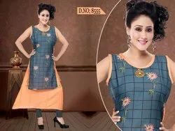 Rayon Mix And Match Kurti
