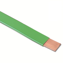 Pvc Coated Copper Tape/sleeves Strip, Thickness: 2.0 Mm