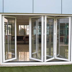 White Upvc Bi Fold Door