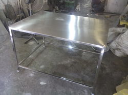 Stainless Steel Simple Work Table