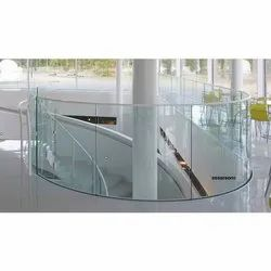 Machine Tempered Bent Glass