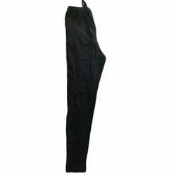 Ladies Cotton Black Plain Pyjama, Size: S-L