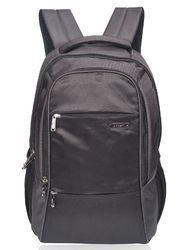 Grey Laptop Backpack Bag