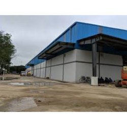 Steel Frame Structures Commercial Warehouse Construction Service, in Local