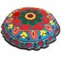 Boho Large Indian Suzani Floor Pillows