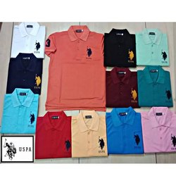 Men US Polo T Shirts M To XXL, Quantity Per Pack: 1