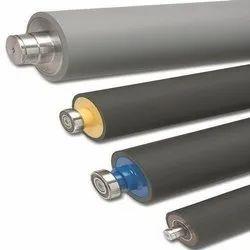 Stainless Steel Ebonite Rollers, Roller Diameter: 300