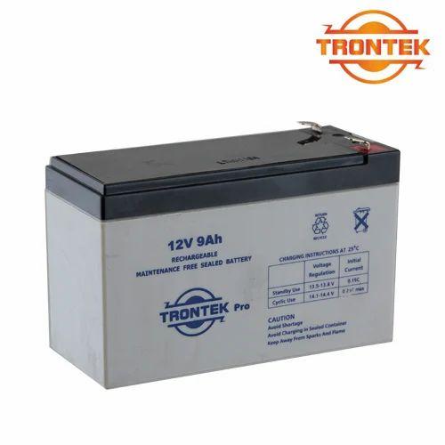 TRONTEK 12v 9ah Sfm Battery Max Electronics