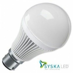 Ceramic And Crystal Angled Front , Square Syska LED Bulb, 5 W And Below , 11 W - 15 W