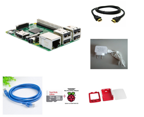 Raspberry Pi 3 Model B Complete Kit
