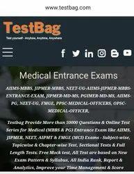 TestBag Medical Entrance Exams Online Test
