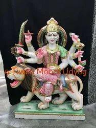 White Marble Vaishno Devi Statue