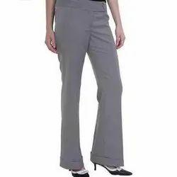 Cotton Comfort Fit Ladies Formal Pant
