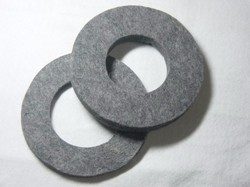 Grey Felt Gasket Wheel