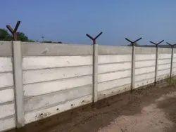 Exterior RCC Precast Compound Wall