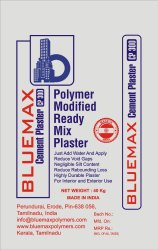 Gray Drymix Cement Plaster