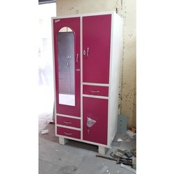 Domestic Dressing Steel Cupboard With Mirror
